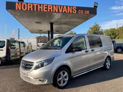 Mercedes Vito 119 Sport Crewvan AUTO 2018 21,995.00 GBP plus VAT and RFL 33100