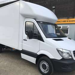 Mercedes Sprinter Luton 313