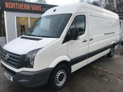 Volkswagen Crafter CR35 LWB  2014 10,495.00 GBP plus VAT and RFL 75647
