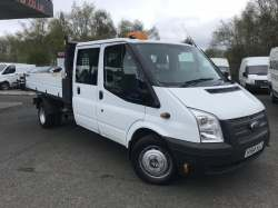 Ford Transit 125 T350 D/CAB Tipper 2014 10,495.00 GBP plus VAT and RFL 71325