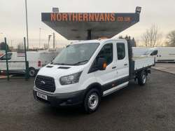 Ford Transit 350 Double Cab Tipper 2017 19,995.00 GBP plus VAT and RFL 37216
