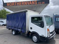 Nissan Cabstar 35.13 Curtainsider 2012 6,995.00 GBP plus VAT and RFL 91258